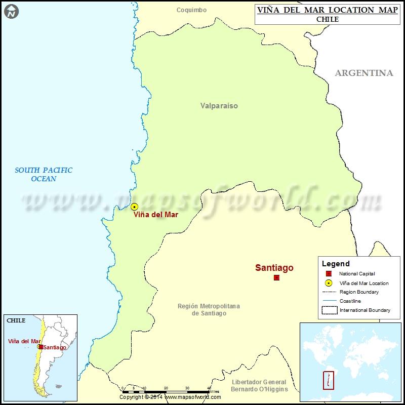 Where is Vina del Mar
